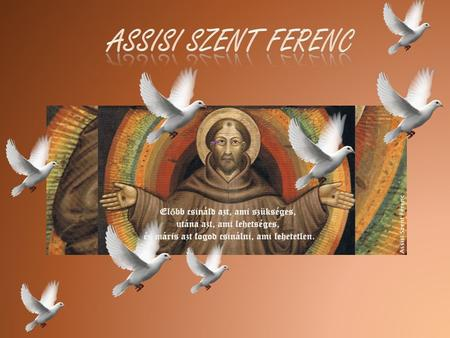 Assisi Szent Ferenc.