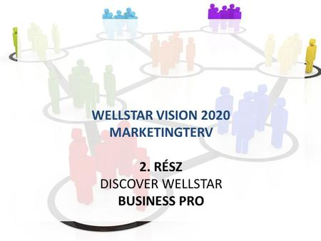 WELLSTAR VISION 2020 MARKETINGTERV 2. RÉSZ DISCOVER WELLSTAR BUSINESS PRO.