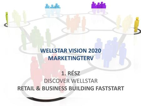WELLSTAR VISION 2020 MARKETINGTERV 1. RÉSZ DISCOVER WELLSTAR RETAIL & BUSINESS BUILDING FASTSTART.