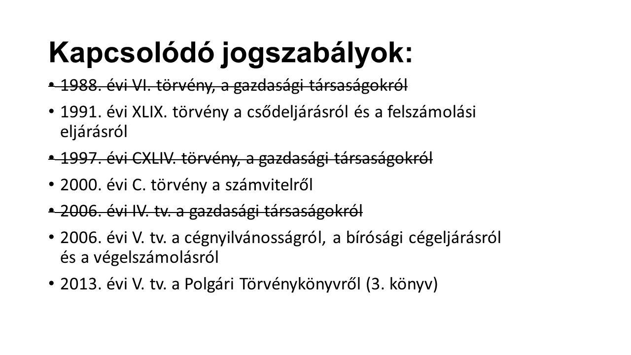 Törzstőke emelés, Miért.Ptk. hatályba lépés 2014.