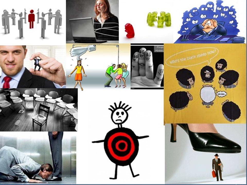 Folyamata: konfliktusok → pszichoterror → jogsértések → kikerülés a szervezetből/ munka világából 1.