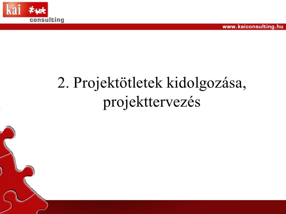 Lépések 1.Stratégiai célok kijelölése, stratégiai partnerek megkeresése 2.