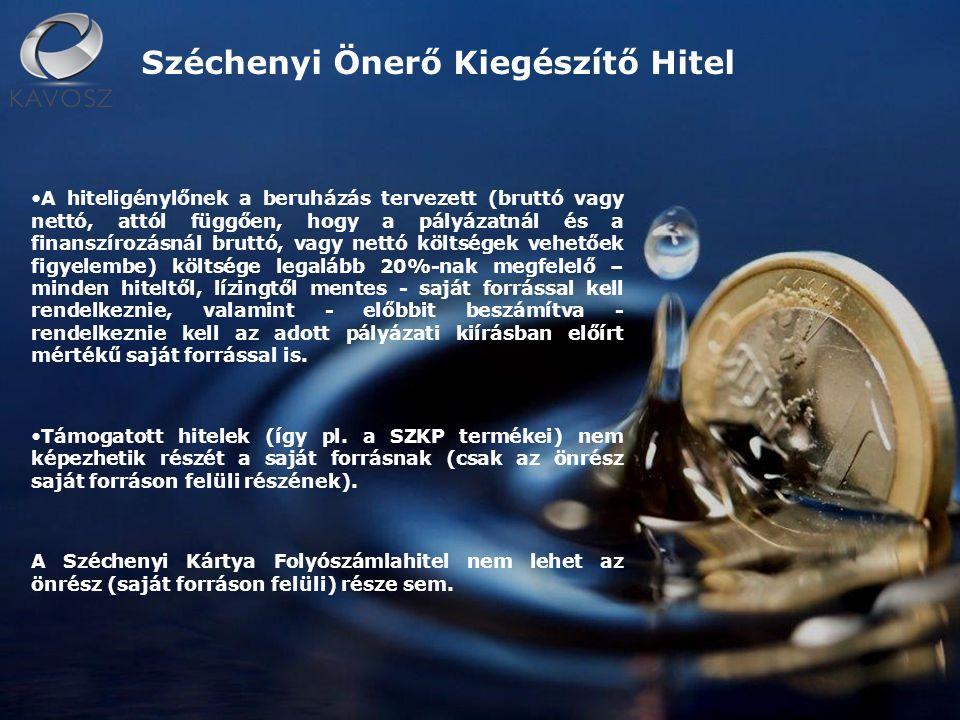 Széchenyi Támogatást Megelőlegező Hitel A Támogatást Megelőlegező Hitel az elnyert uniós forrásokhoz való gyorsabb hozzájutást segíti elő azok megelőlegezése révén.