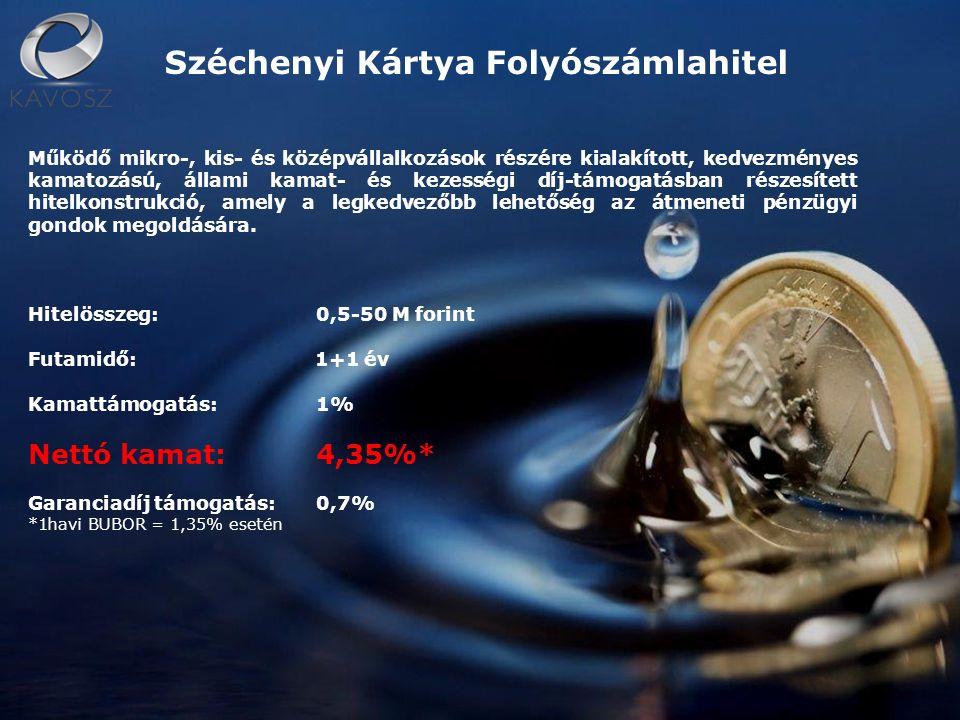 Agrár Széchenyi Kártya Az agráriumban működő gazdasági társaságok, szövetkezetek, egyéni vállalkozók, egyéni cégek valamint családi gazdálkodók, őstermelők ill.