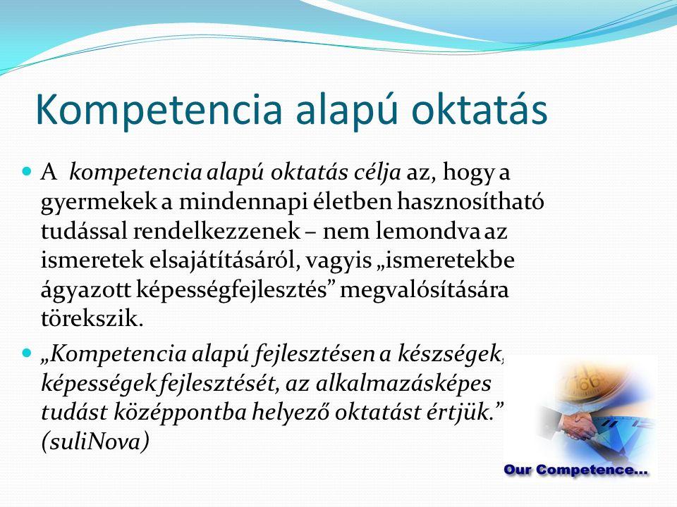 KULCSKOMPETENCIÁK A kulcskompetenciák azok a kompetenciák, amelyekre minden egyénnek szüksége van személyes boldogulásához és fejlődéséhez, az aktív állampolgári léthez, a társadalmi beilleszkedéshez és a munkához.