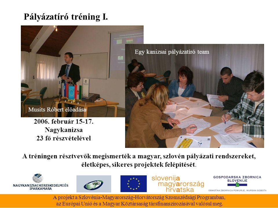 Pályázatíró tréning II.