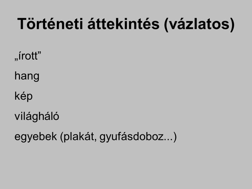 """Történeti áttekintés (""""írott ) barlangrajz"""