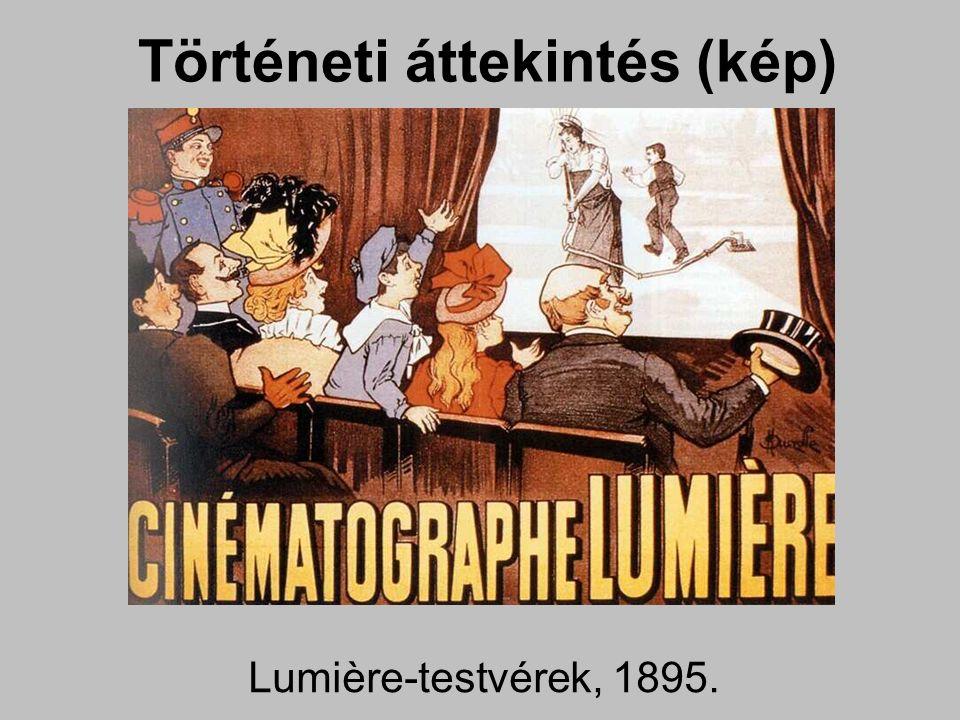 Történeti áttekintés (kép) hangosfilm Vogt – Massole – Engel, 1922.