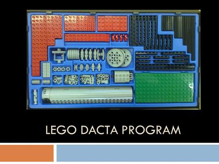 LEGO Dacta program.