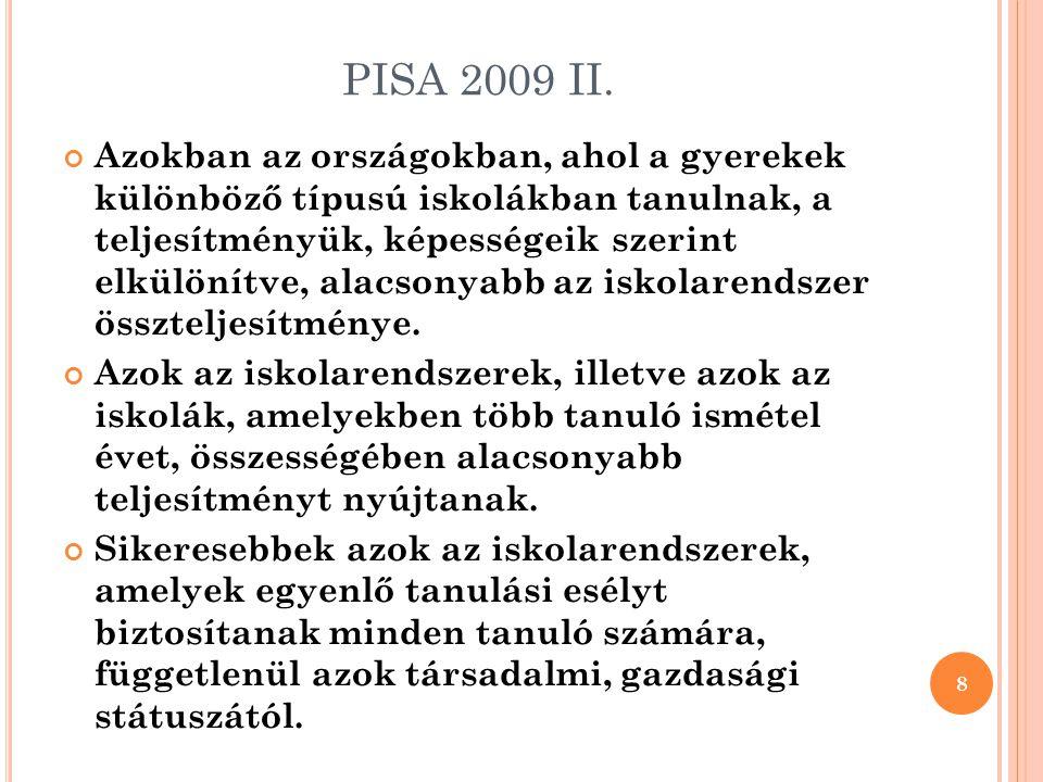 A Z IPR ALKALMAZÁSÁNAK TAPASZTALATAI 9