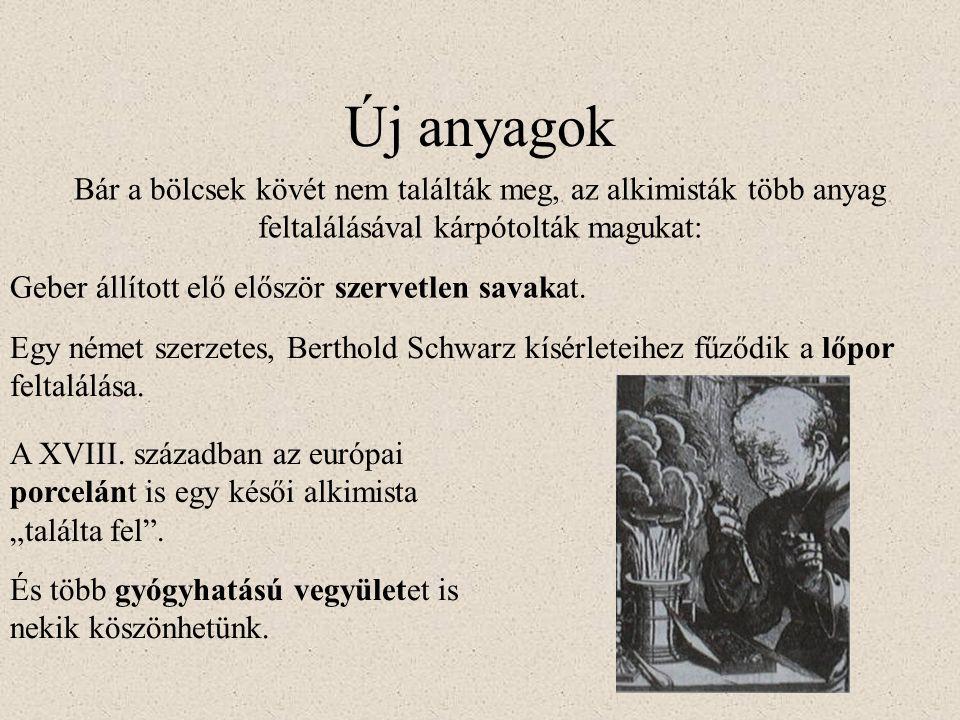 Jelrendszerek Az alkimista szövegek legtöbbje szándékosan homályos nyelvezettel íródott.