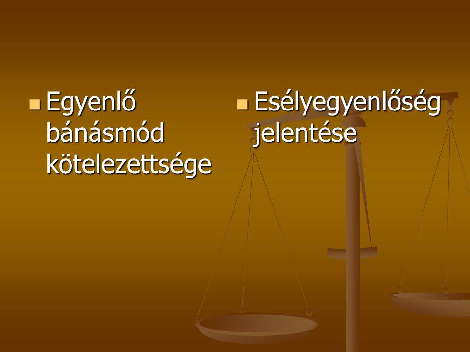 A FOGLALKOZTATÁST ÉRINTŐ KÉRDÉSEK  1.A törvény hatálya  2.