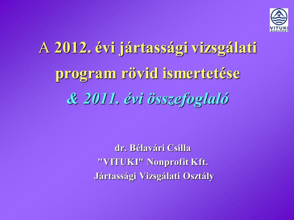 A 2012.évi program Budapest, 2012.01.18.22011.