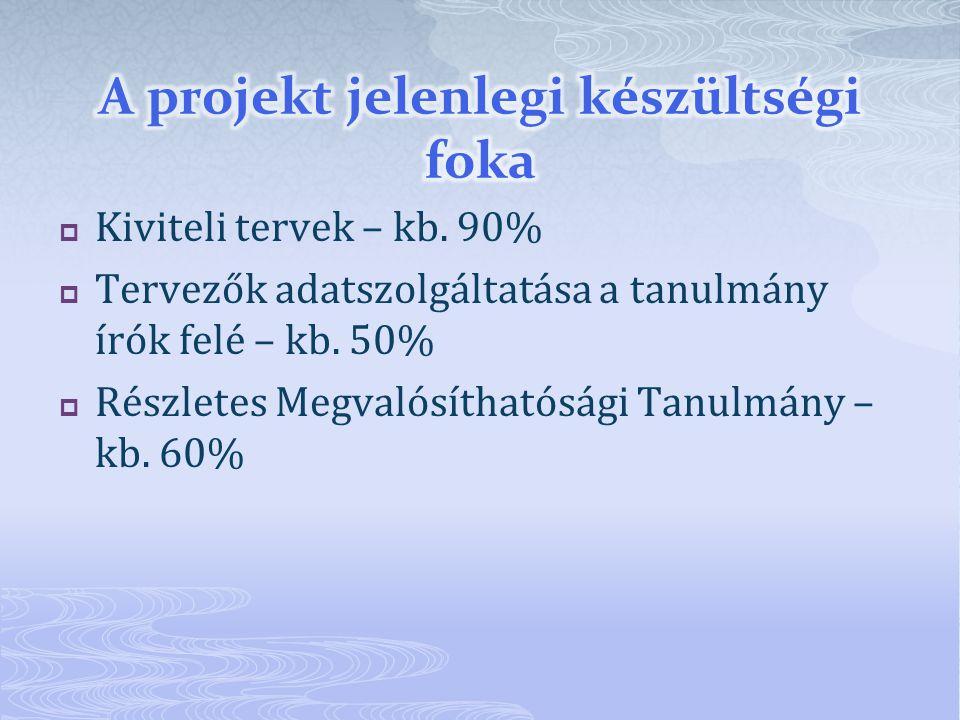  A tervezővel kötött szerződés szerint a tervek elkészítésének határideje 2011.