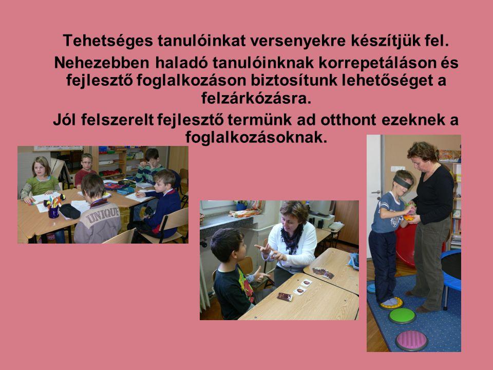 A napközi otthonunk: A gyermekek életrendje a napköziben a tanulás és a szabadidő köré szerveződik.