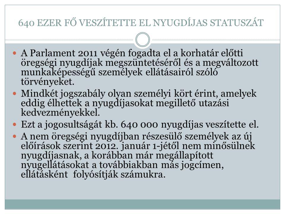 MINDENT PONTOSAN KELL ÉRTELMEZNI  Az új szabályozás szerint rokkantsági ellátásban részesülők közül a korábbi előírások alapján I.