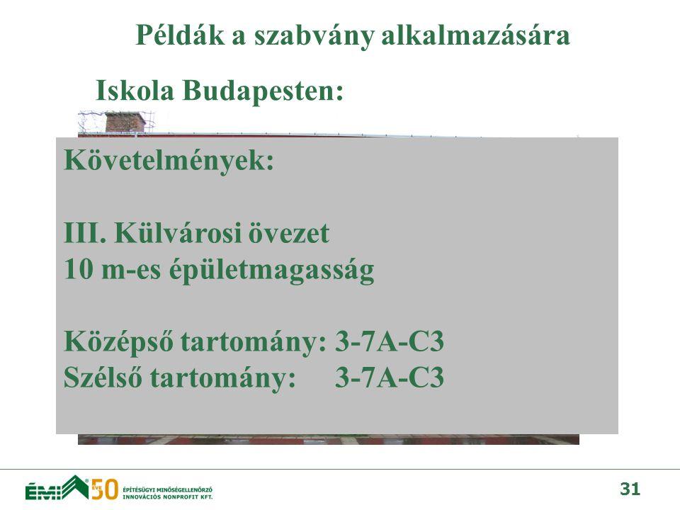 32 Panel felújítás Budapesten: Követelmények: IV.