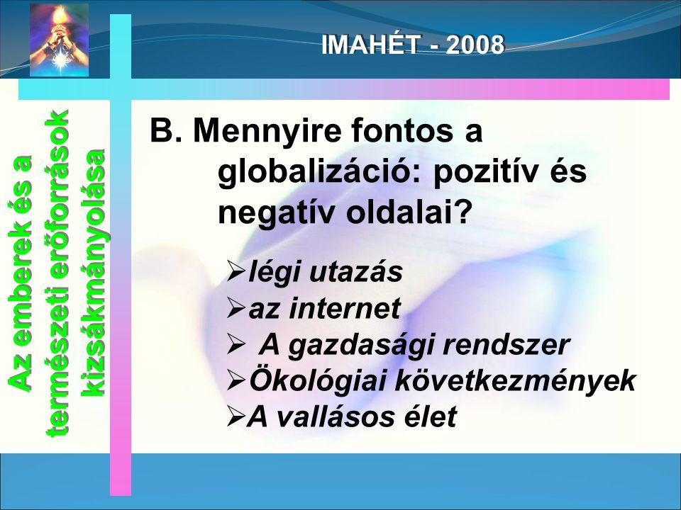 IMAHÉT - 2008 C.