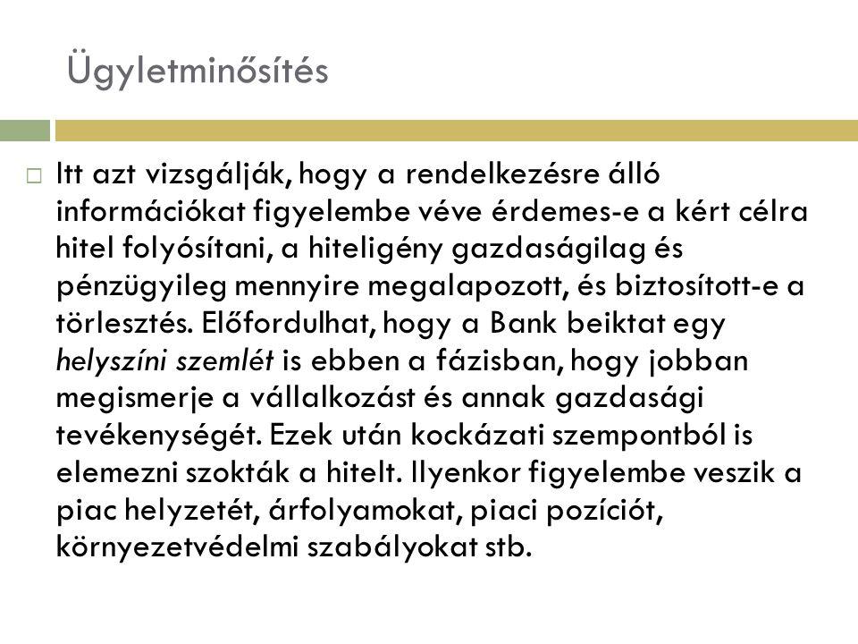 Példa  Előzetes tőkeszükséglet: 30.000e Ft  Rendelkezésre álló saját tőke: 10.000e Ft  Elvárt hozam: 30%  Külső forrás: 20.000e Ft A.
