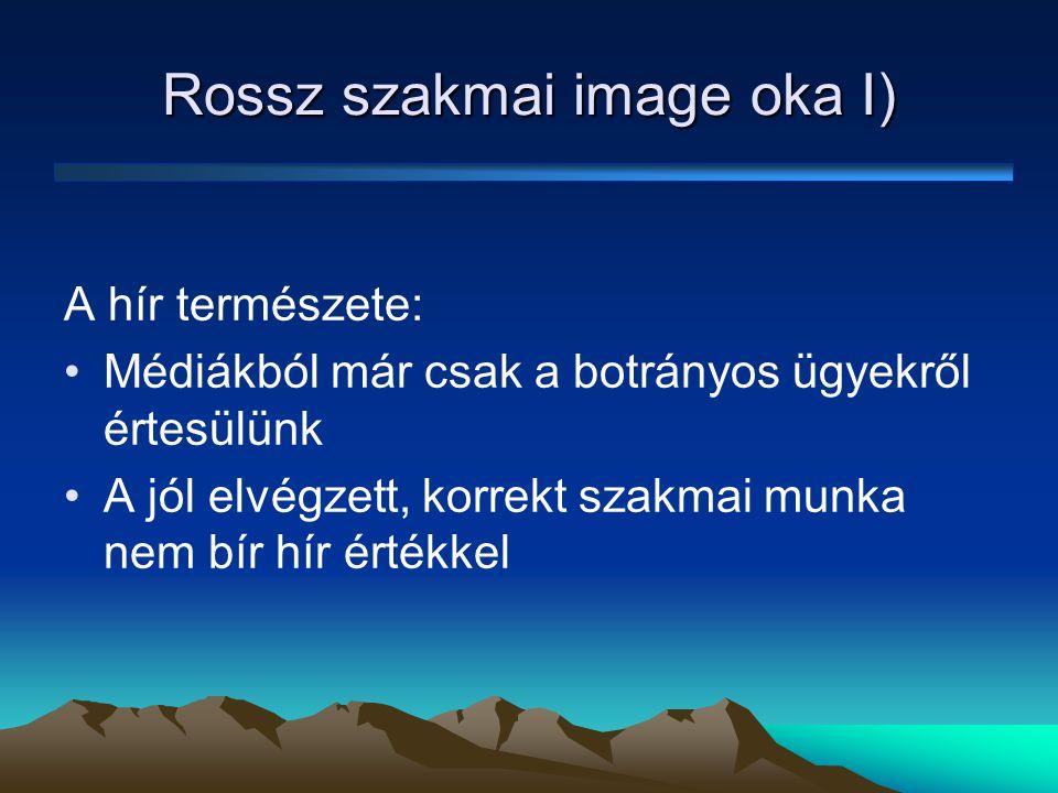 """Rossz szakmai image oka II) Lobbizás szintjei: •""""Kéz-kezet-mos szint ≠ nem szakmai munka •Szakmai munka (pl."""