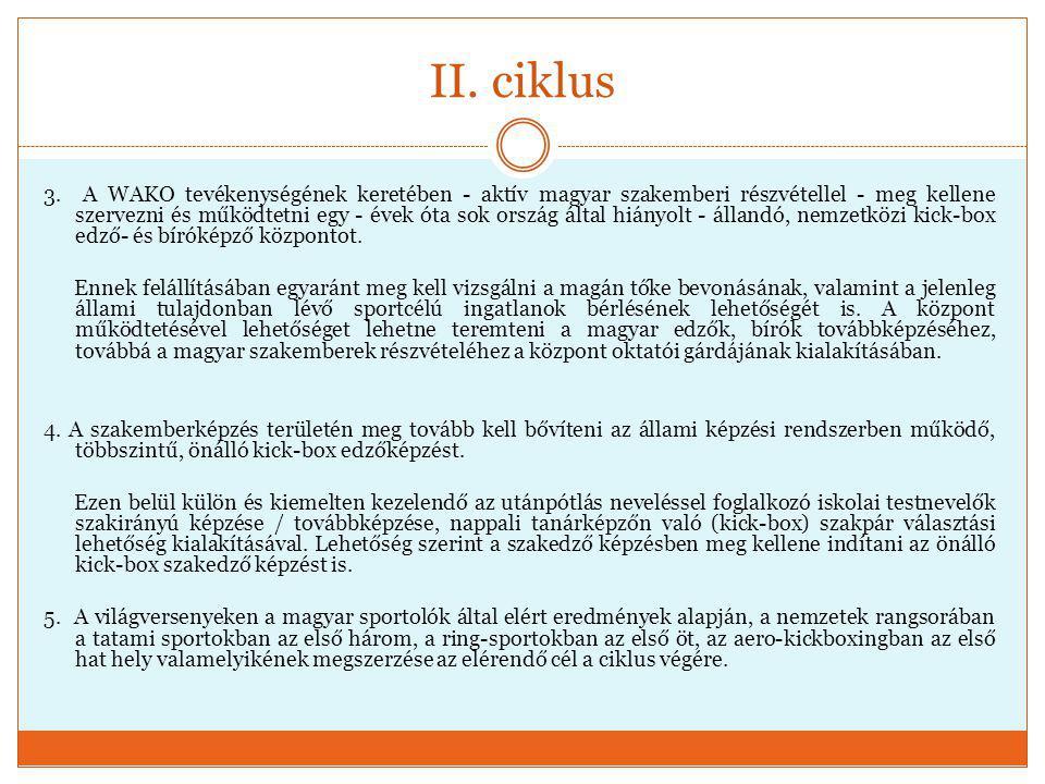 II.ciklus 6.