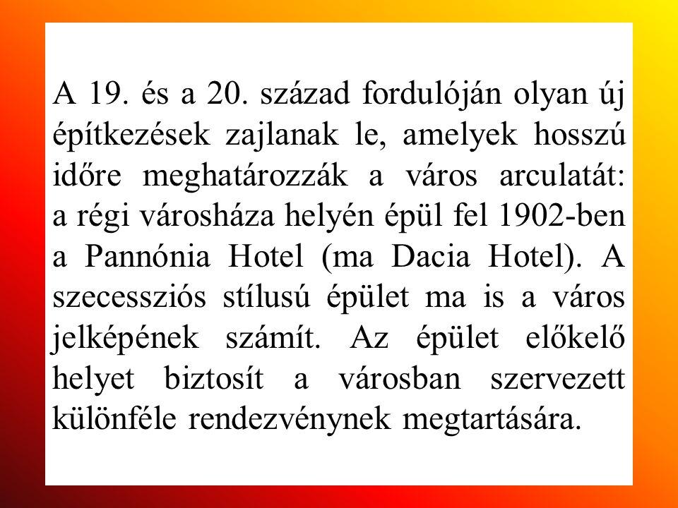 Pannónia Szálló (Dacia Hotel)