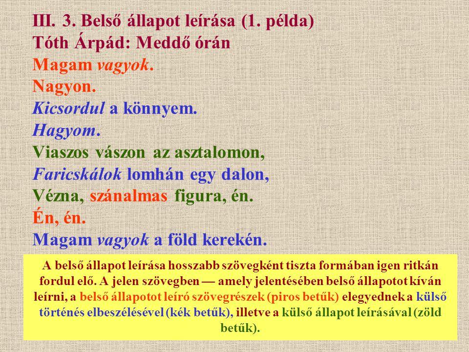 III.3. Belső állapot leírása (2.
