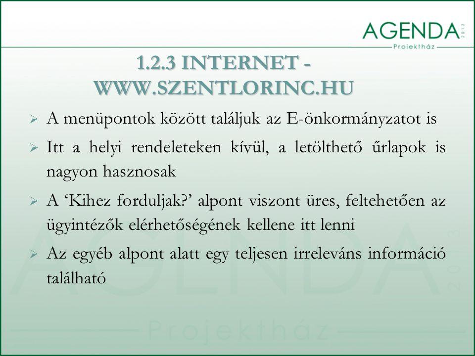 1.2.4 INFORMÁCIÓSZABADSÁG  A 2005.évi XC. elektronikus információszabadság törvény és a 18/2005.