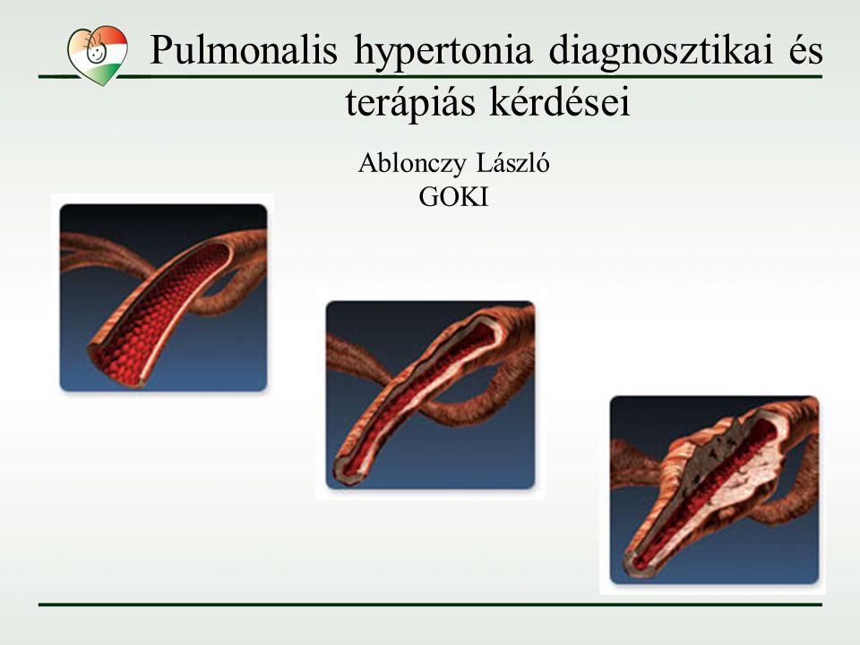 Pulmonalis hypertonia WHO Venice 2003 1.