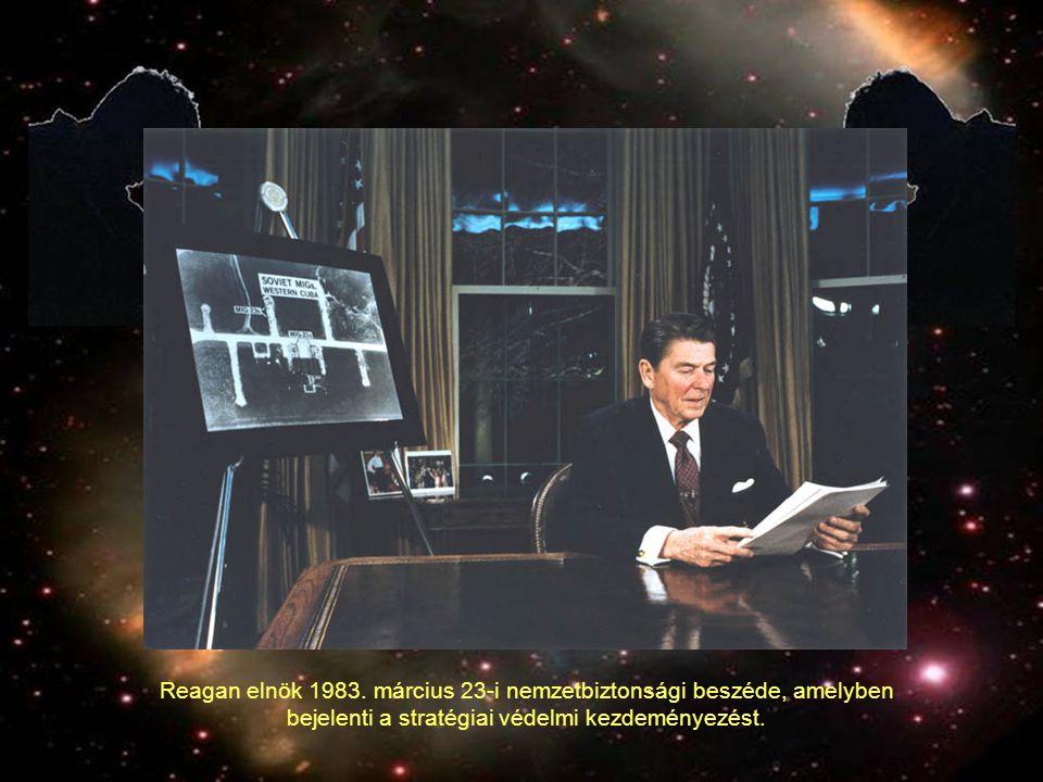 Programok és programtervek 1984-ben megalakult a Strategic Defense Initiative Organization (SDIO), feladata az SDI program felügyelete volt.