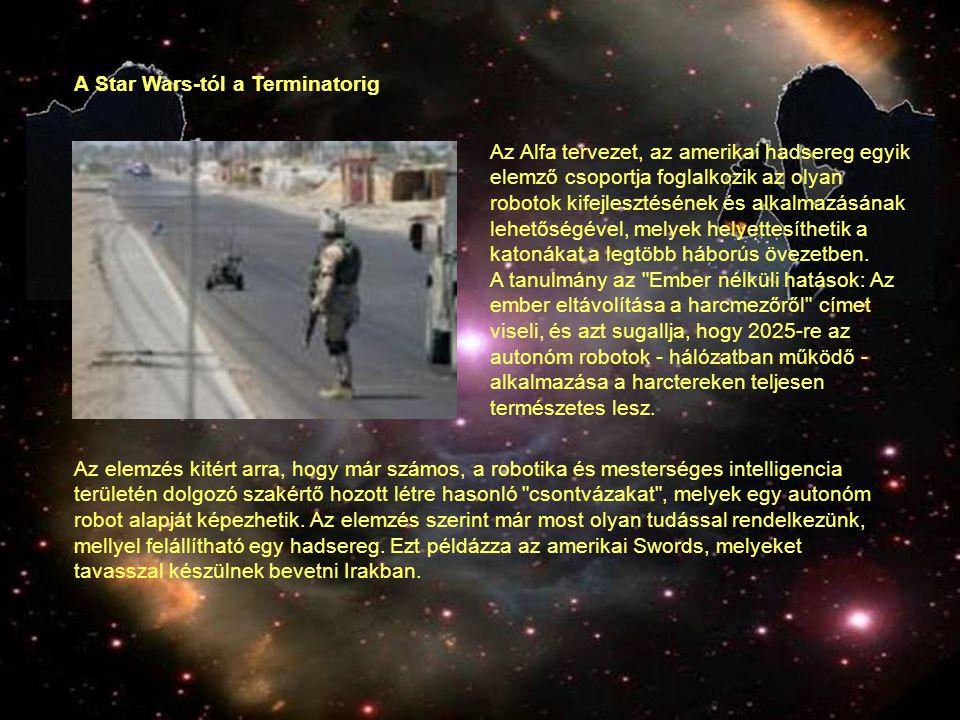 A tanulmány célja, hogy megfogalmazza a robothaderő használatának mikéntjét, és létrehozzanak egy olyan hivatalt, mely kifejezetten az ilyen jellegű katonai feladatok koordinálását és integrálását felügyelné, különös hangsúllyal az ember nélküli projektekre.