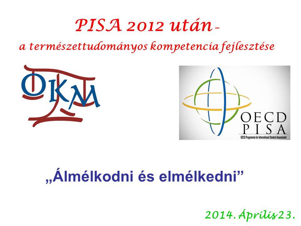 Csapó Benő hangsúlyozta, a PISA-vizsgálatok abban segítik az országokat, hogy saját problémáikat megértsék, és megtalálják a helyi feltételekhez alkalmazható megoldásokat.