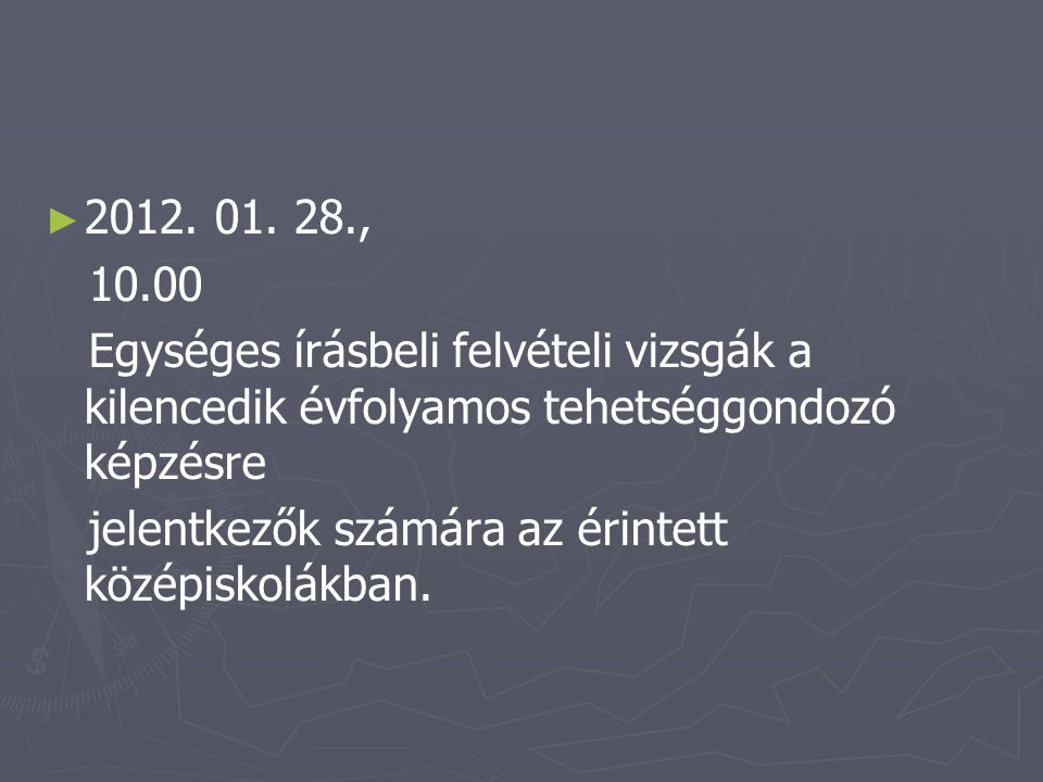► ► 2012.01. 31.