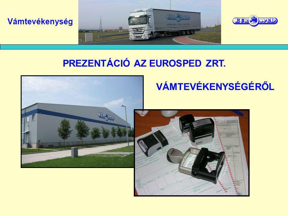 Eurosped Nemzetközi Fuvarozó és Szállítmányozó Zrt.