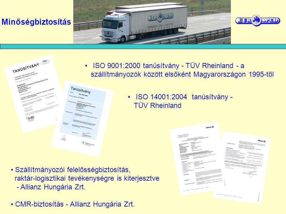 Elérhetőségek Eurosped Zrt.1138 Budapest, Szekszárdi u.