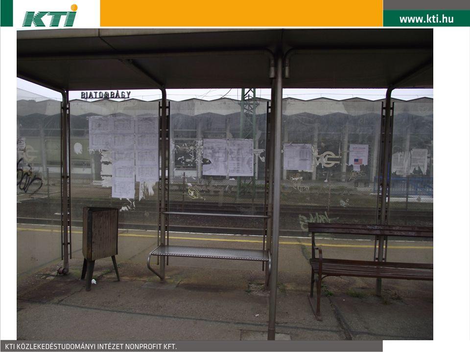 Jövőkép Új közlekedéspolitikai koncepció BKK –Tarifaproblémák megoldása –Utastájékoztatási problémák megoldása –Forgalomirányítás egységesítése –Üzemeltetői ellenérdekek kezelése Vasúti fejlesztések preferálása A vasúti menetrend igényekhez igazítása