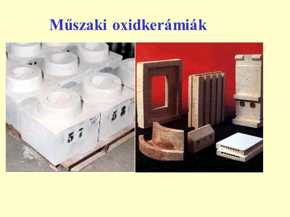 Műszaki oxidkerámiák 2  Cirkóna vagy cirkóniumoxid (ZrO 2 ).