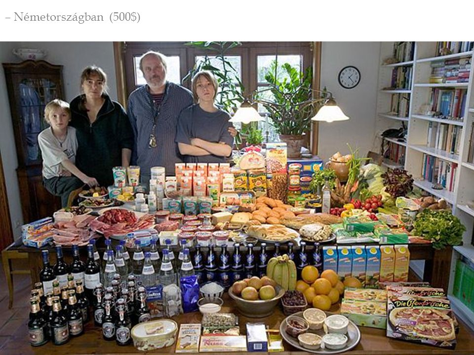  Nyugati fogyasztói szokások hódítása  Hús, tej és magas feldolgozottságú élelm.