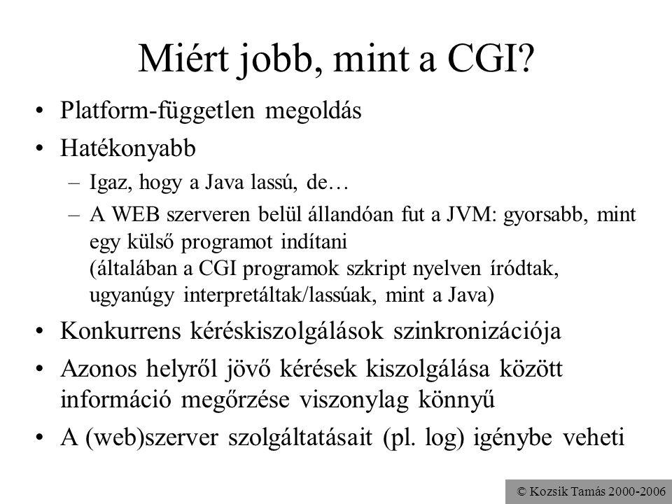 © Kozsik Tamás 2000-2006 Mi ez a technológia.