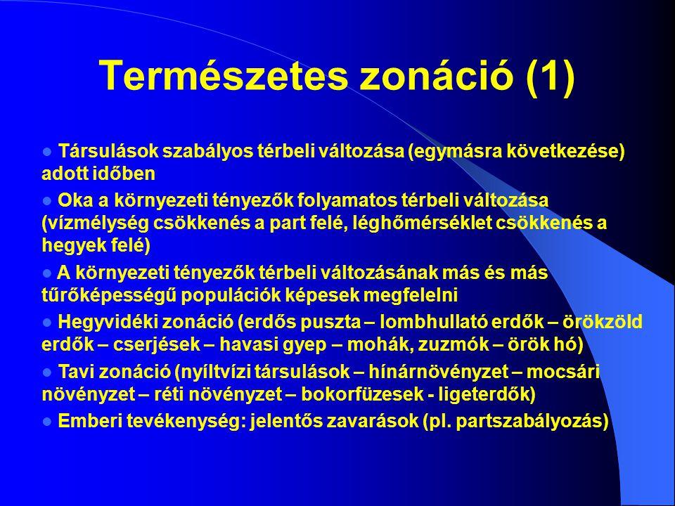 Természetes zonáció (2)