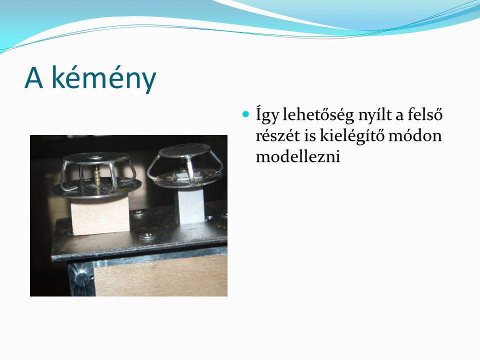 Mérés A mérési pontokban mért nyomás és a zavartalan áramlásban uralkodó nyomás különbségének értékét (pl.