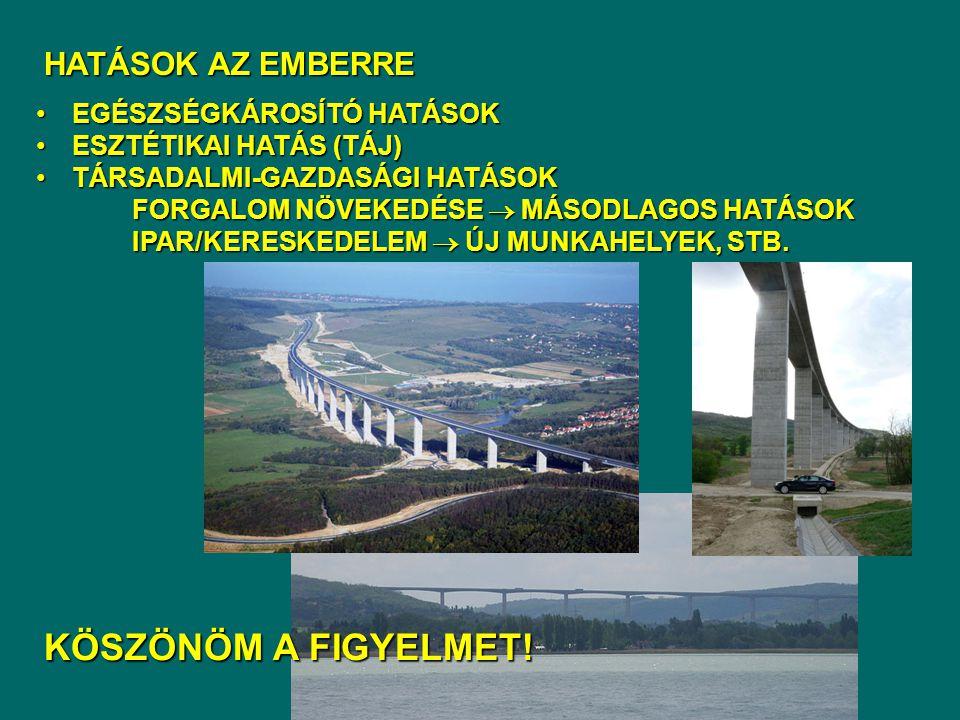 Felkészítő kérdések 1.Egy autópálya építéséhez hatásvizsgálatot készít.