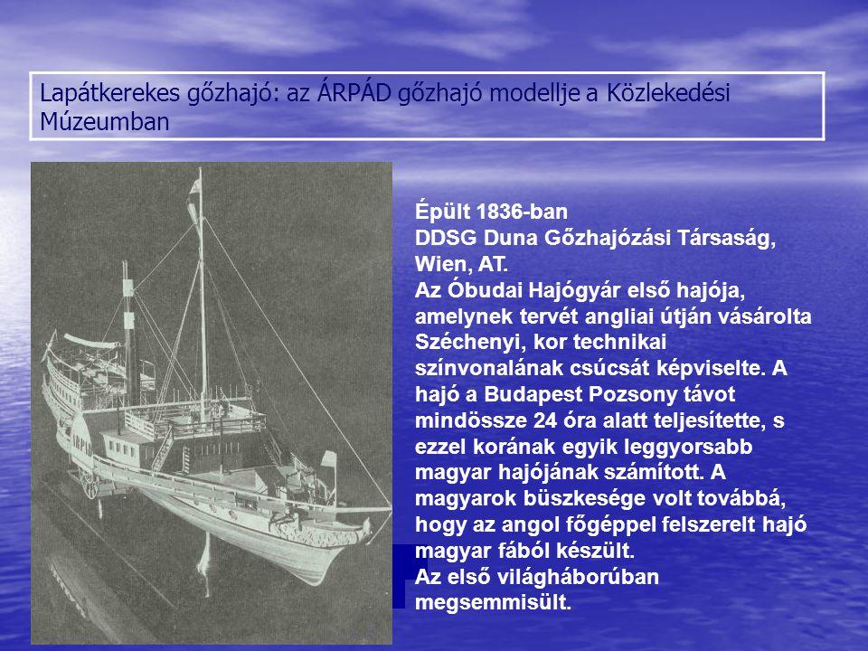 Hajók meghajtása hajócsavarral A csavaros hajtás ugyanakkora motorteljesítmény mellett lényegesen hatékonyabbnak bizonyult, mint a lapátkerék, ezért ma már lényegesen elterjedtebb.