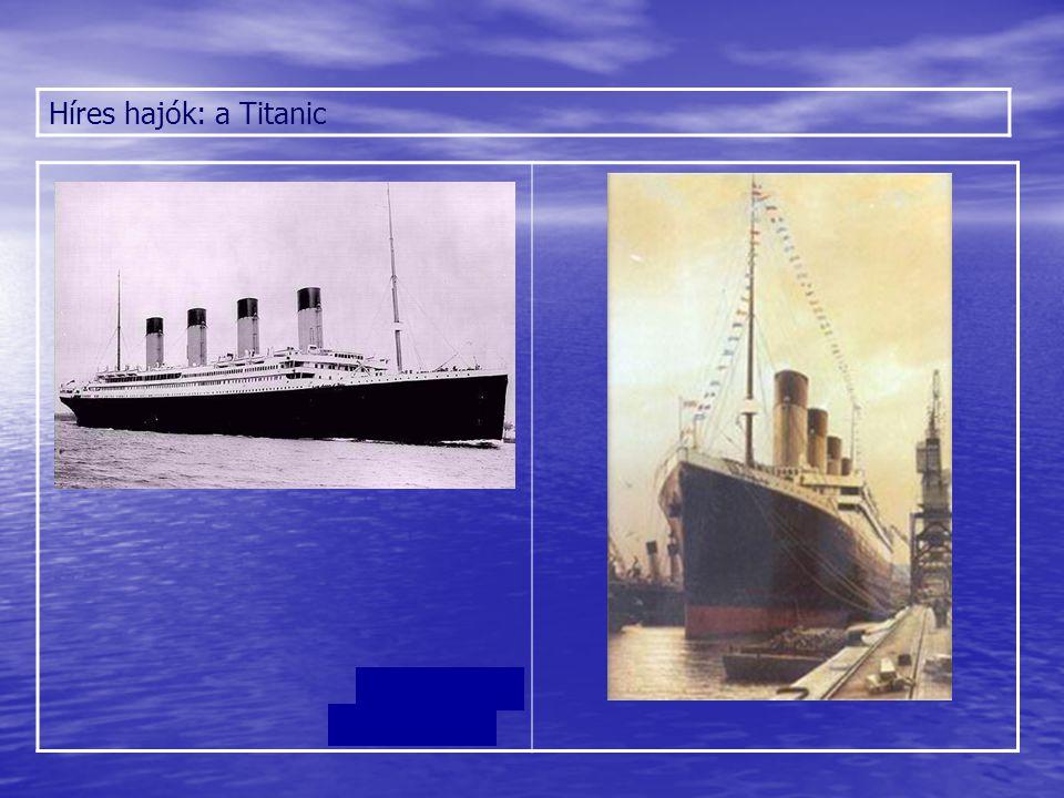 A Titanicot egy három hajócsavaros meghajtórendszer működtette, mely két dugattyús hajtóműből - melyek a két külső hajócsavart forgatták - és egy alacsony nyomású turbinából - mely a középső hajócsavart forgatta - állt.