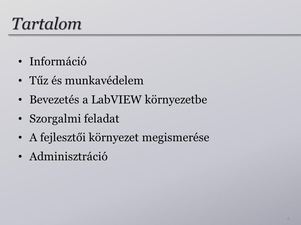 Információ 3