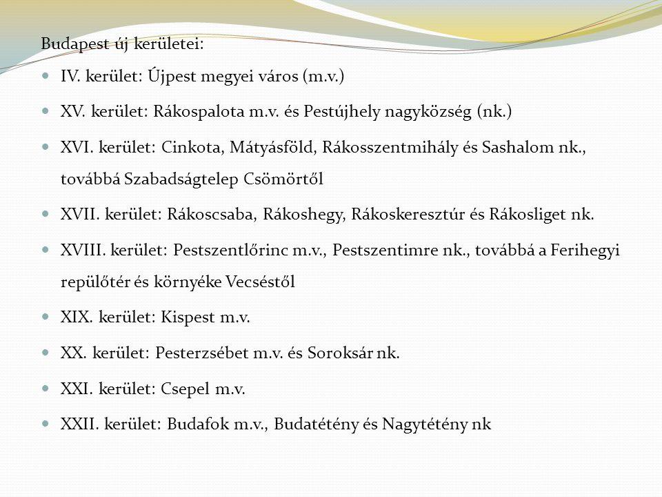 Budapest lakossága 1949 és 1990 között ÉvNépesség (fő) Népsűrűség, fő/km 2 A népesség Időszak Tényleges szaporodás, ill.