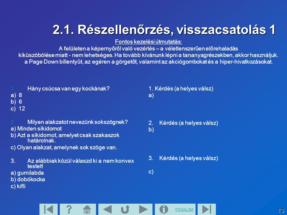 FOGALOM 14 2.1.