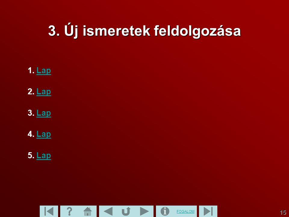 FOGALOM 16 1.1. 1.