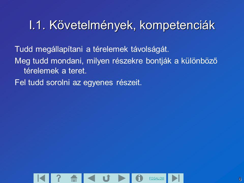 FOGALOM 7 II.