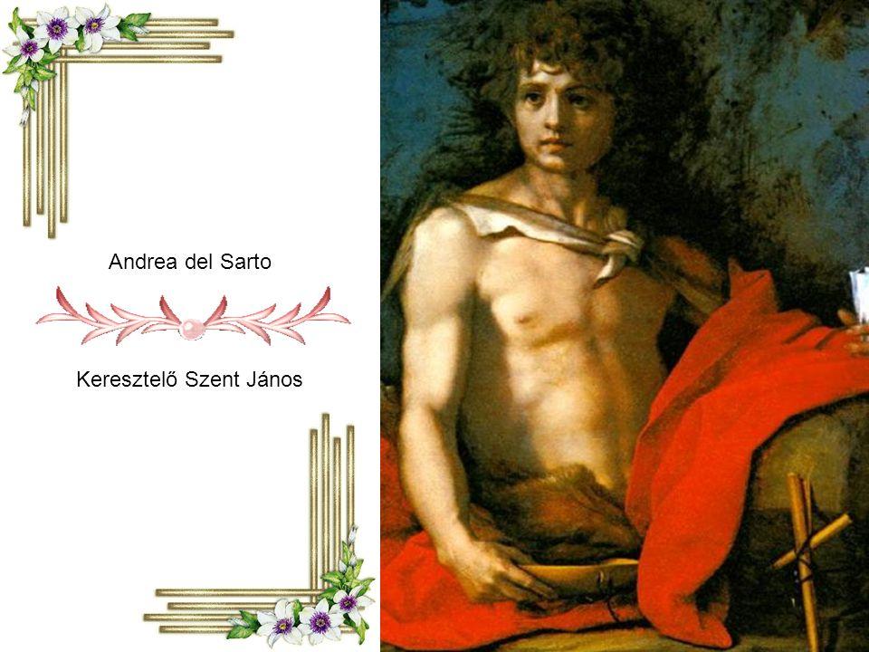 Andrea del Sarto Keresztelő Szent János
